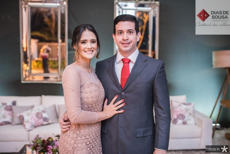 Melissa Fiuza e Gilberto Almeida