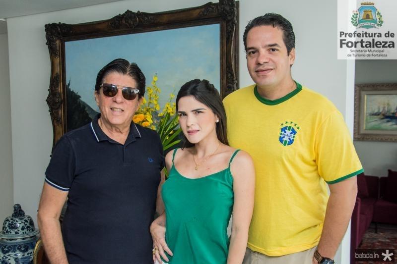 Dito Machado, Marilia Vasconcelos e Thiago Holanda