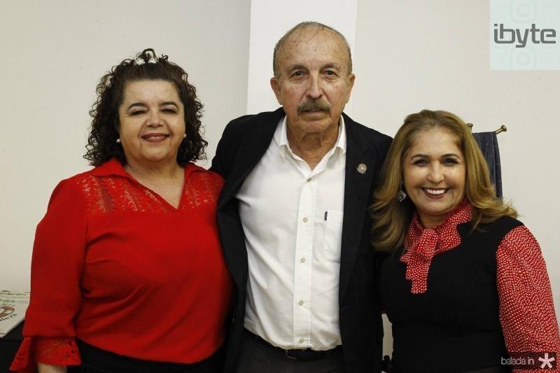 Clivania Teixeira, Paulo Guerra e Jose Viana