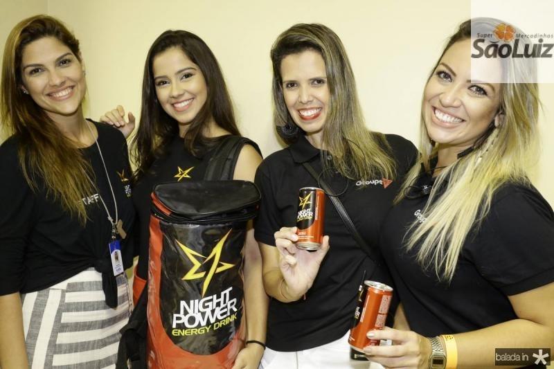 Liana Lins, Leticia Zingara, Flavia Elisa e Luiza Agrise