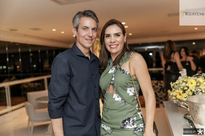 Leo e Anne Alcantara