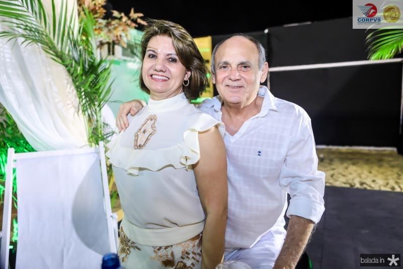 Neide e Glaidson Pontes