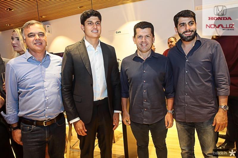 Fernando e Gercino Coelho, Erick Vasconcelos e Joao Franca