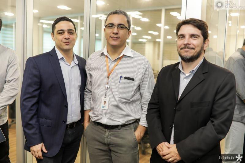 Mauricio Gonsalves, Rizonaldo Alves e Gustavo Ribeiro