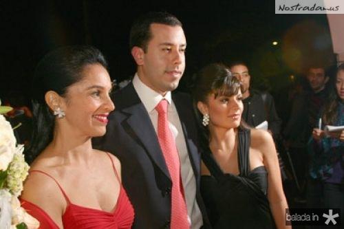 Lu Alckmin, Mario Ribeiro e Sofia Alckmin