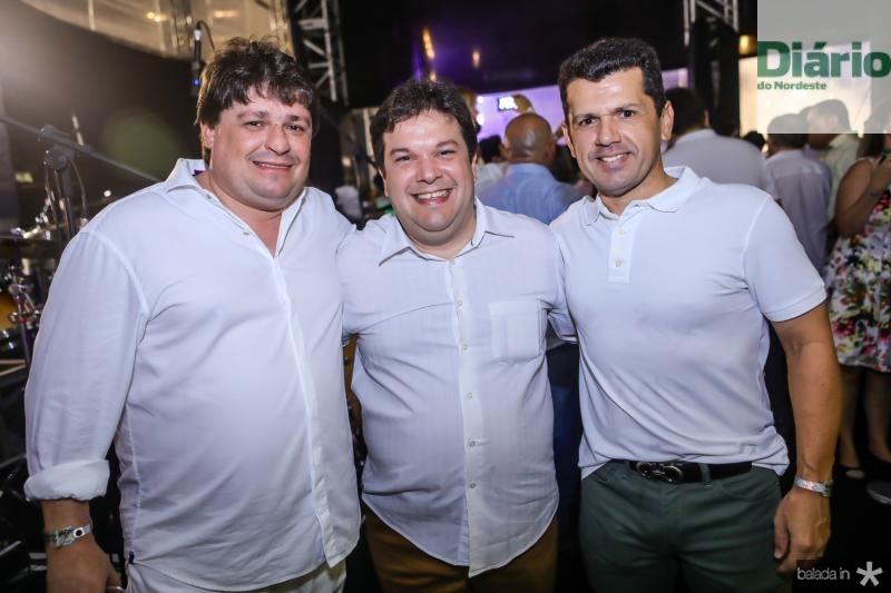 George Lima, Chico Vale e Erick Vasconcelos