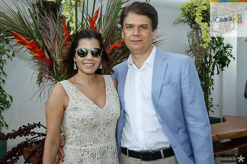 Cláudia Diniz e Leonardo Leal