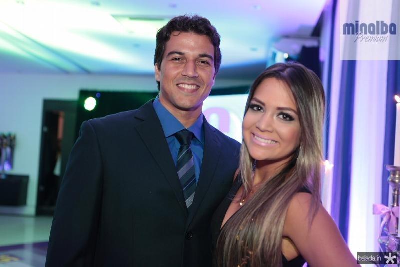 Evandro Aires e Rebeca Fernandes