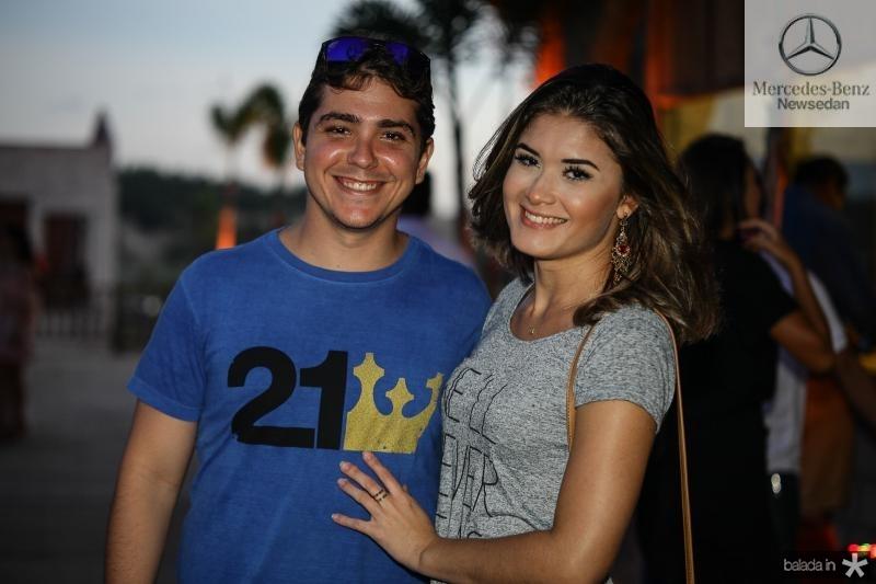 Alan Carvalho e Yasmin Ribeiro