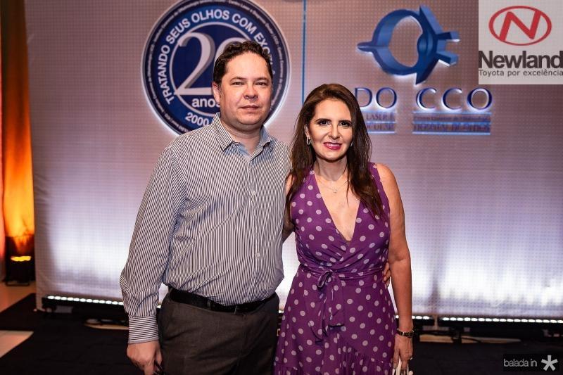 Marcus Maia e Karla Melo