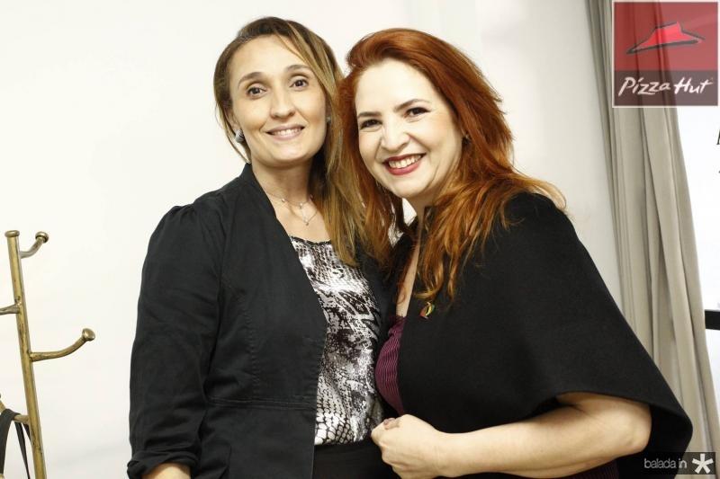 Miyrella Abreu e Enid Camara