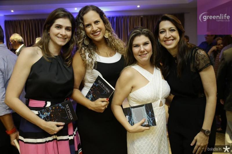 Lia Belchior, Carol Franco, Manu do Carmo e Juliana Sobreira