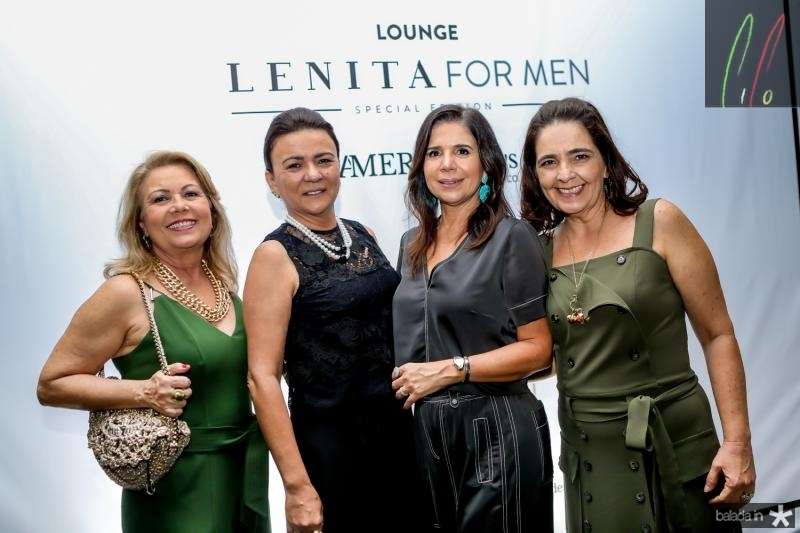 Ines Cals, Guiomar Feitosa, Maria Lucia Negrao e Giana Studart