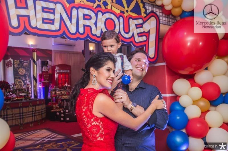Flavia, Henrique e Daniel Simoes (