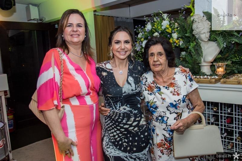 Viviane Quezado, Adriana Queiroz e Nila Diogenes