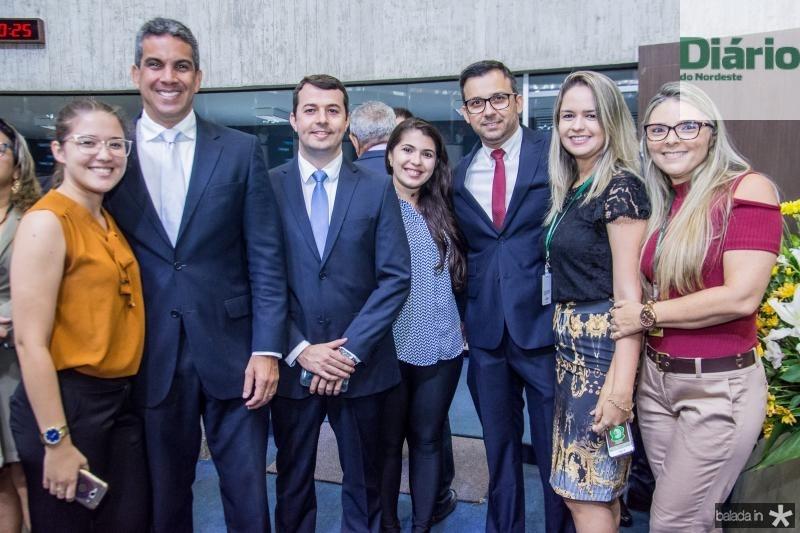 Caiane Farias, Cristiano Alencar, Rodrigo Peixoto, Tuany Almeida, Evrandro Campos, Priscila Aragao e Ludimila Mamede