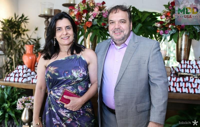 Eleonora Burgos e Cesar Mafra