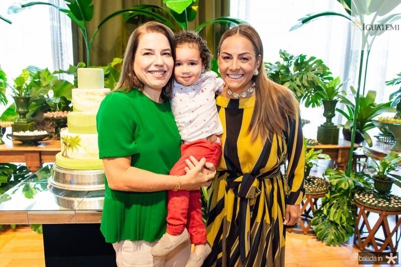 Denise Bezerra, Bento Bezerra e Gil Santos