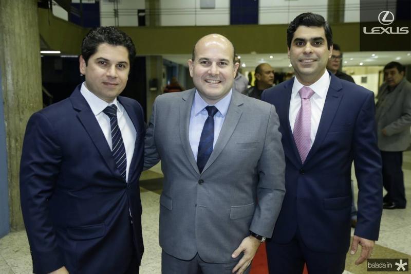 Pompeu Vasconcelos, Roberto Claudio e Queiroz Filho