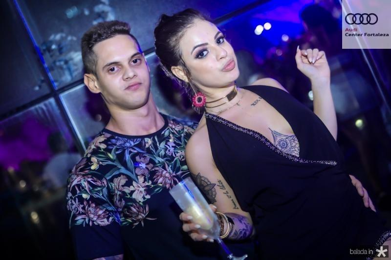 Mateus Sena e Ingrid Ribeiro