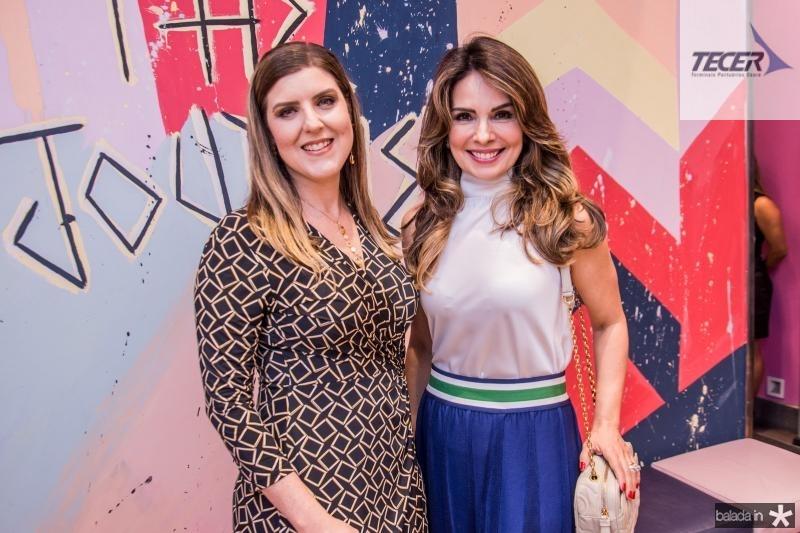 Carla Pereira e Eveline Fujita
