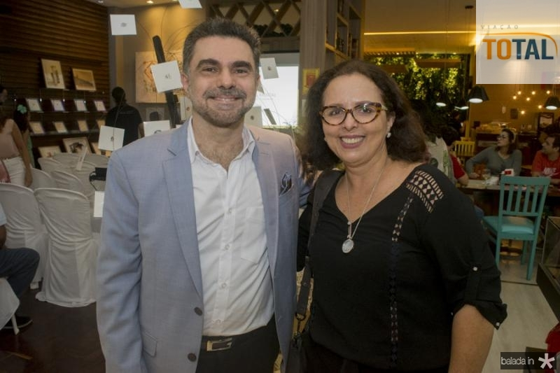 Isaac Furtado e Tereza Melo