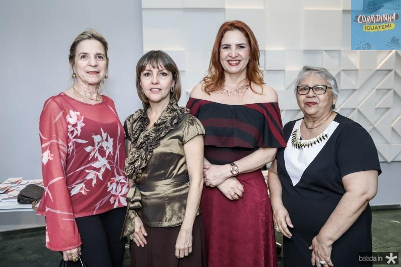 Anya Ribeiro, Circe Jane, Enid Camara e Gloria Ribeiro