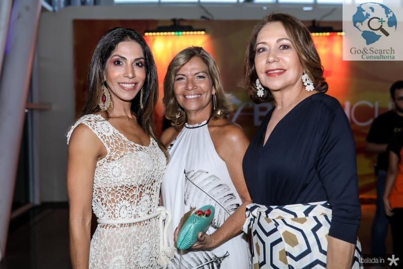 Synara Leal, Ana Pinto e Ana Alcantara