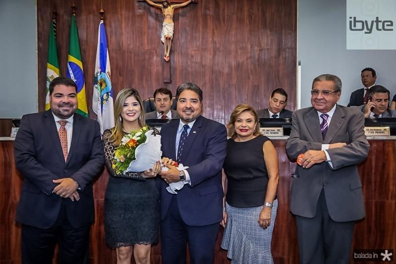 Eungenio, Roberta, Leandro, Franca e Antonio Vasques