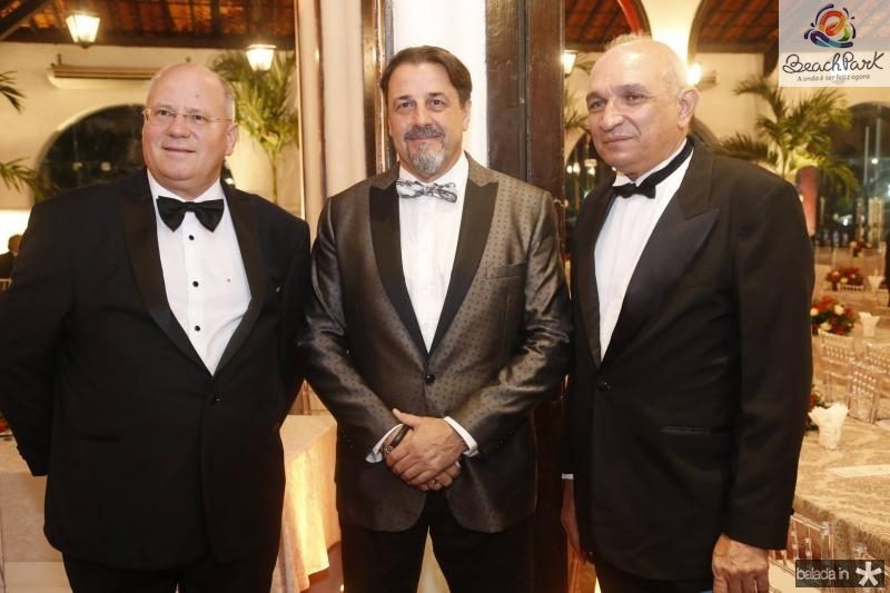 Marco Suiço, Vitorio Guia e Licinio Correa 1