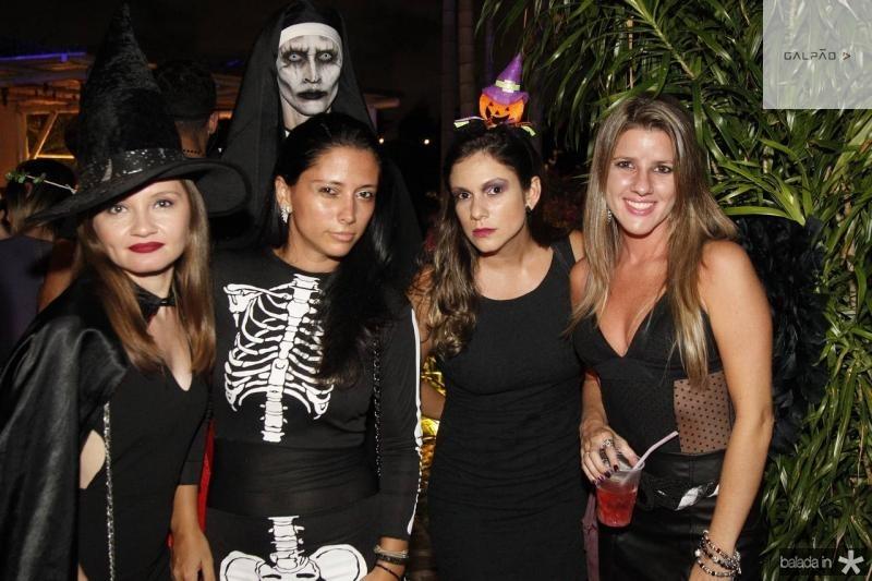 Rebeca Rabelo, Beatriz Albuquerque, Luiz Henrique, Katiuska Ribeiro e Ana Matos