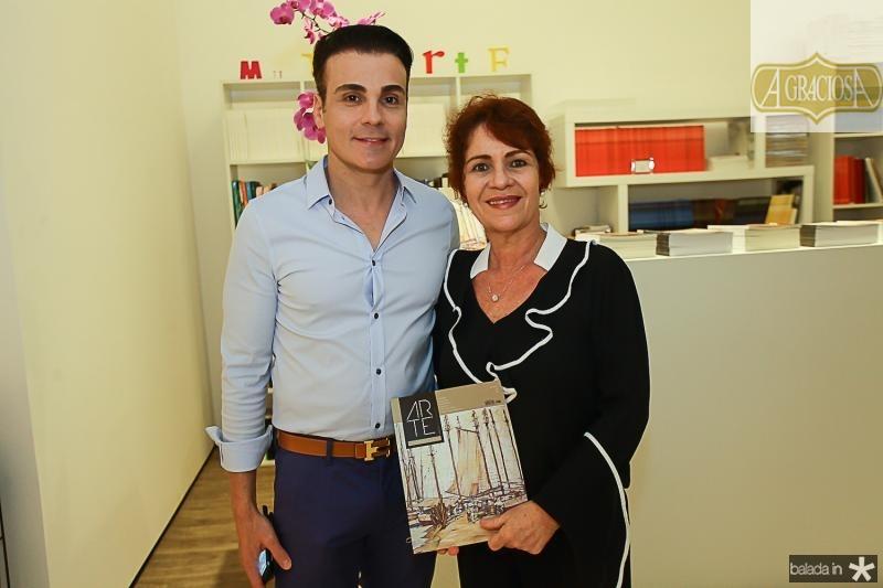 Rodrigo Maia e Lilian Quindere