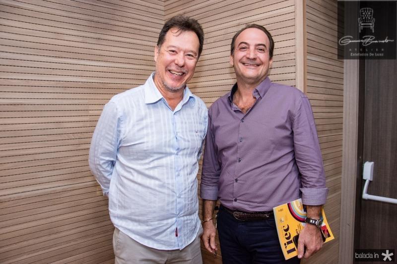Carlos Fujita e Dante Bonorandi
