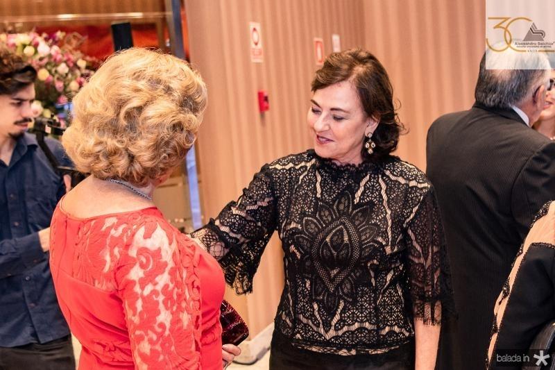 Auxiliadora Paes Mendonca e Ana Studart