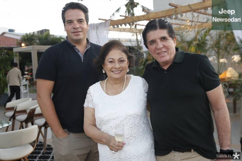 Thiago Holanda, Auridea Guauberto e Dito Machado