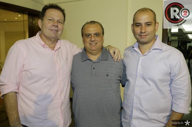 Julinho Ventura, Max Camara e Andre Linheiro