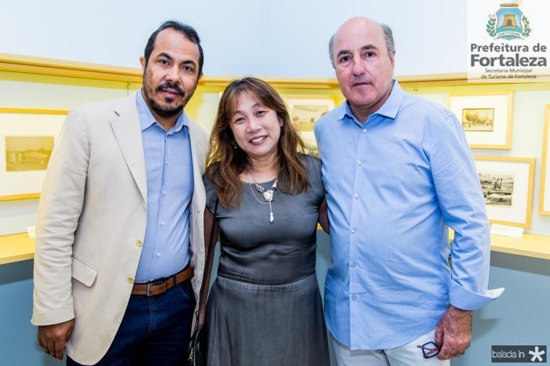 Antônio Almeida, Silvia Fan e Silvio Frota