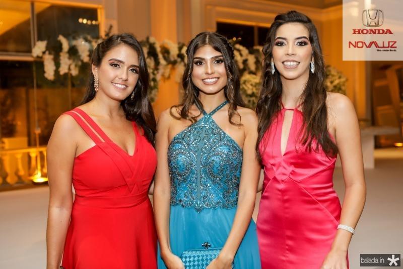 Juliana Lima, Jessica Aragao e Marcela Rodrigues