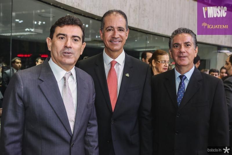 Alexandre Pereira, Regis Medeiros e Ricardo Sales