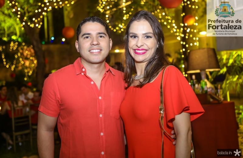 Genezio Lima e Marcela Levy