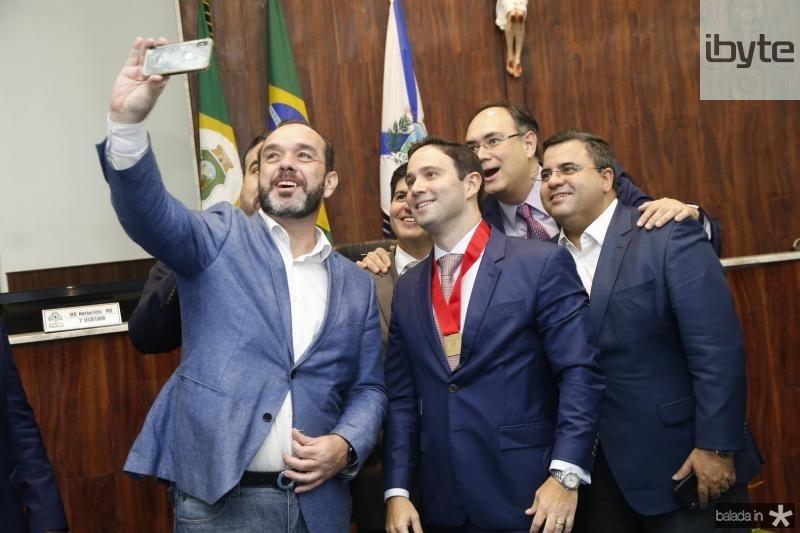 Waldrir Xavier, Daniel Aragao, Thiago Asfor, Adriano Costa e Fabio Timbo