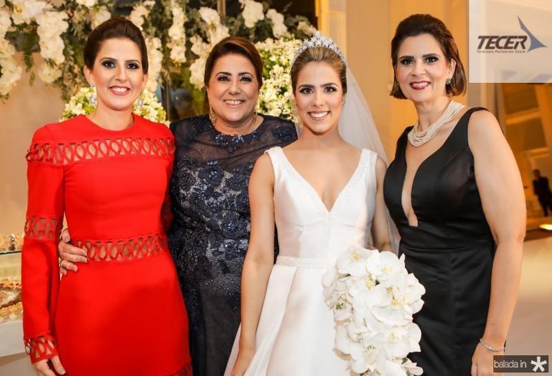 Mariana e Ana Melo, Roberta Martins e Jiliana Melo