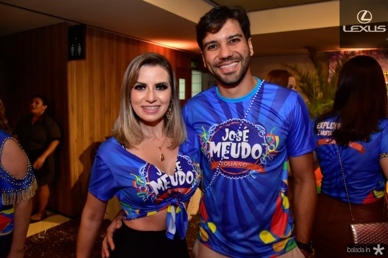 Talita Bessa e Tiago Alcantara