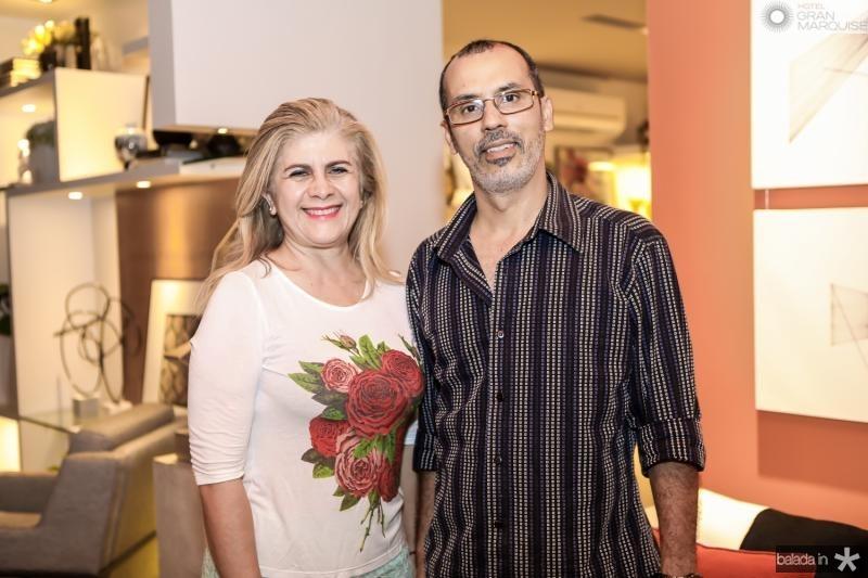 Telma Aguiar e Sidney Viana