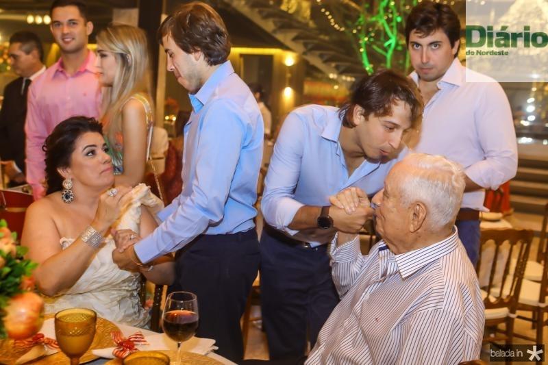 Silvana, Marcelo, Rafael, Rodrigo e Adauto Bezerra
