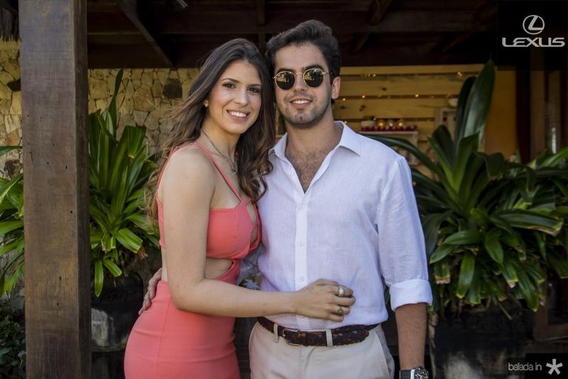 Ana Carolina Goyanna e Joao Vitor Vasconcelos