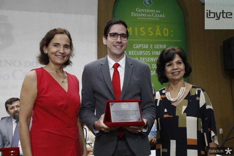 Izolda Cela, Lucas Germano e Candida Torres de Melo