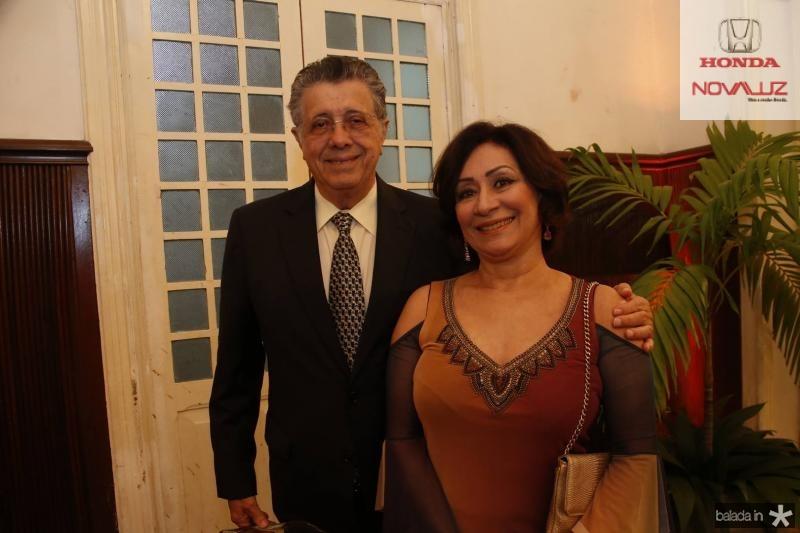 Joao Sampaio e Fatima Saboia
