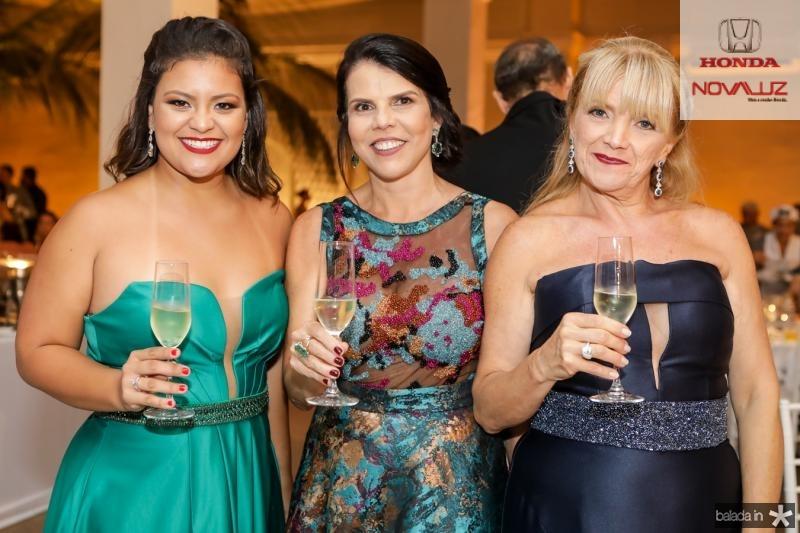 Rafaela Lima, Claudia Melo e Conceiçao Lima