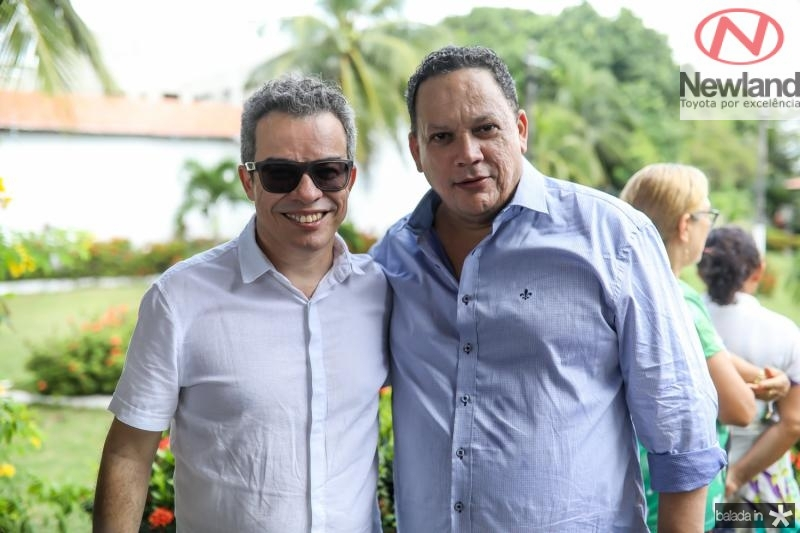 Fabiano Piuba e Laiutinho Brega